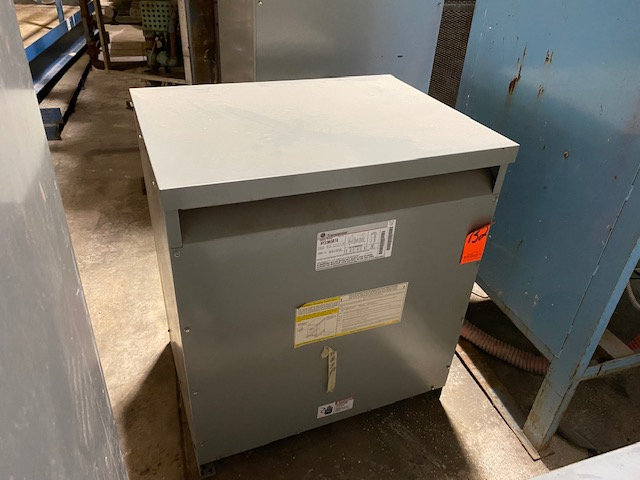 1 - PREOWNED 75-KVA TRANSFORMERS WITH GE, MODEL #: 9T23B3874