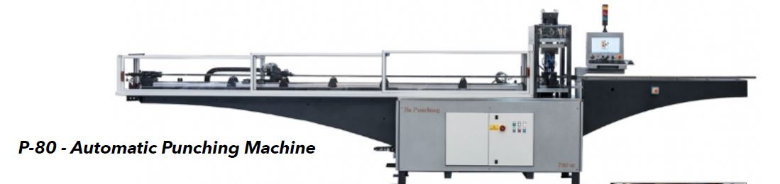 1 - NEW BSP SYSTEM AUTOMATIC TUBE PUNCHING MACHINE, <br>MODEL #: P80-2T