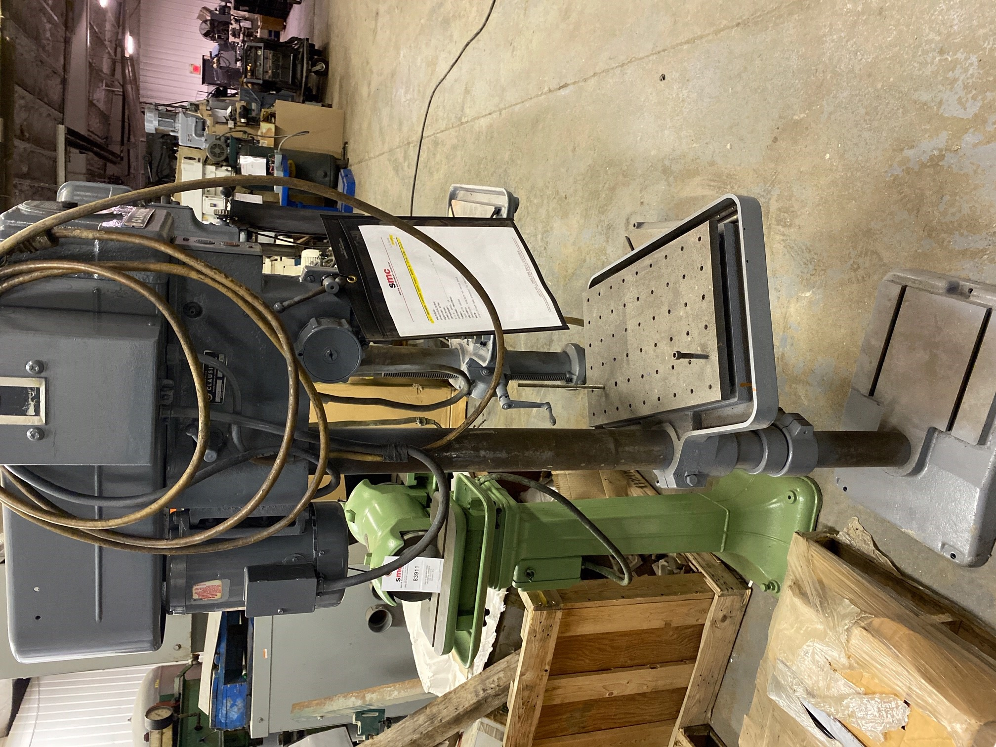 1 - PREOWNED CLAUSING DRILL PRESS, MODEL #: 1754, S/N: 120275