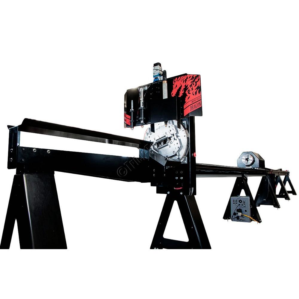 1 - NEW BEND-TECH CNC PLASMA TUBE CUTTING, MARKING AND <br>ENGRAVING MACHINE, MODEL #: DRAGON A400