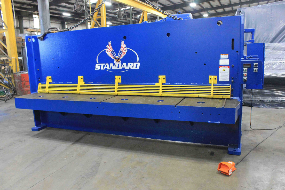 1 - PREOWNED REFURBISHED STANDARD HYDRAULIC SHEAR,<br>MODEL #: AS375-12, YEAR: 2001