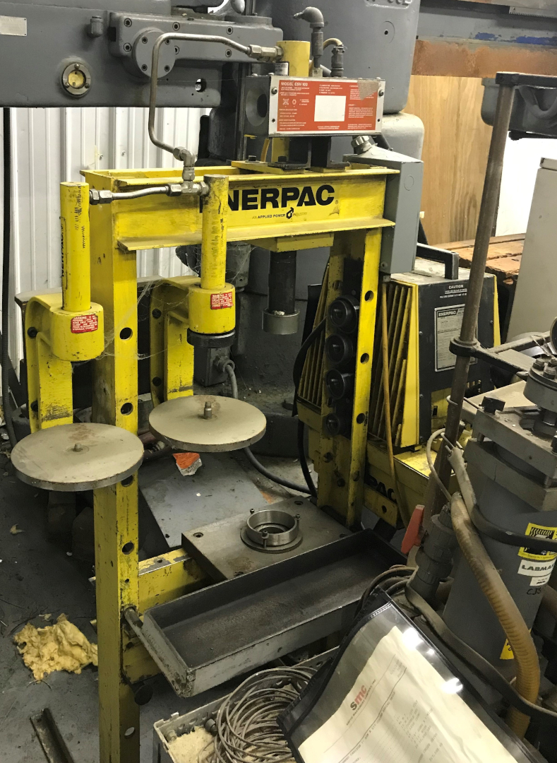 1 - PREOWNED ENERPAC PRESS, MODEL #: PER3042A, S/N: DE8 708
