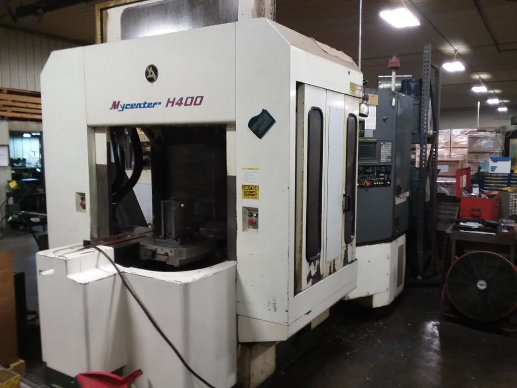 1 - PREOWNED KITAMURA?ßHORIZONTAL MACHINING CENTER, <br>MODEL #: MYCENTER?ßH400, S/N: 42208, YEAR: 1996