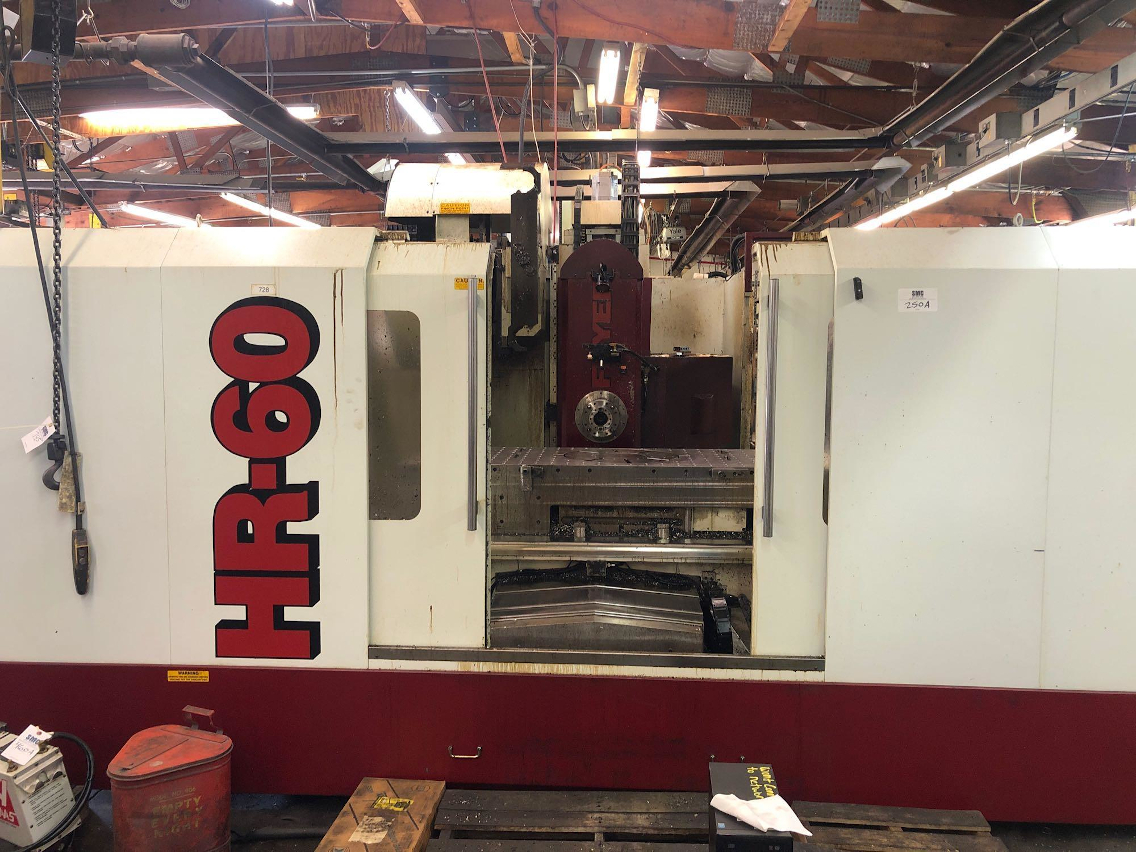 1 - PREOWNED FRYER HORIZONTAL MACHINING CENTER, MODEL #: HR-<br>60, S/N: 60839