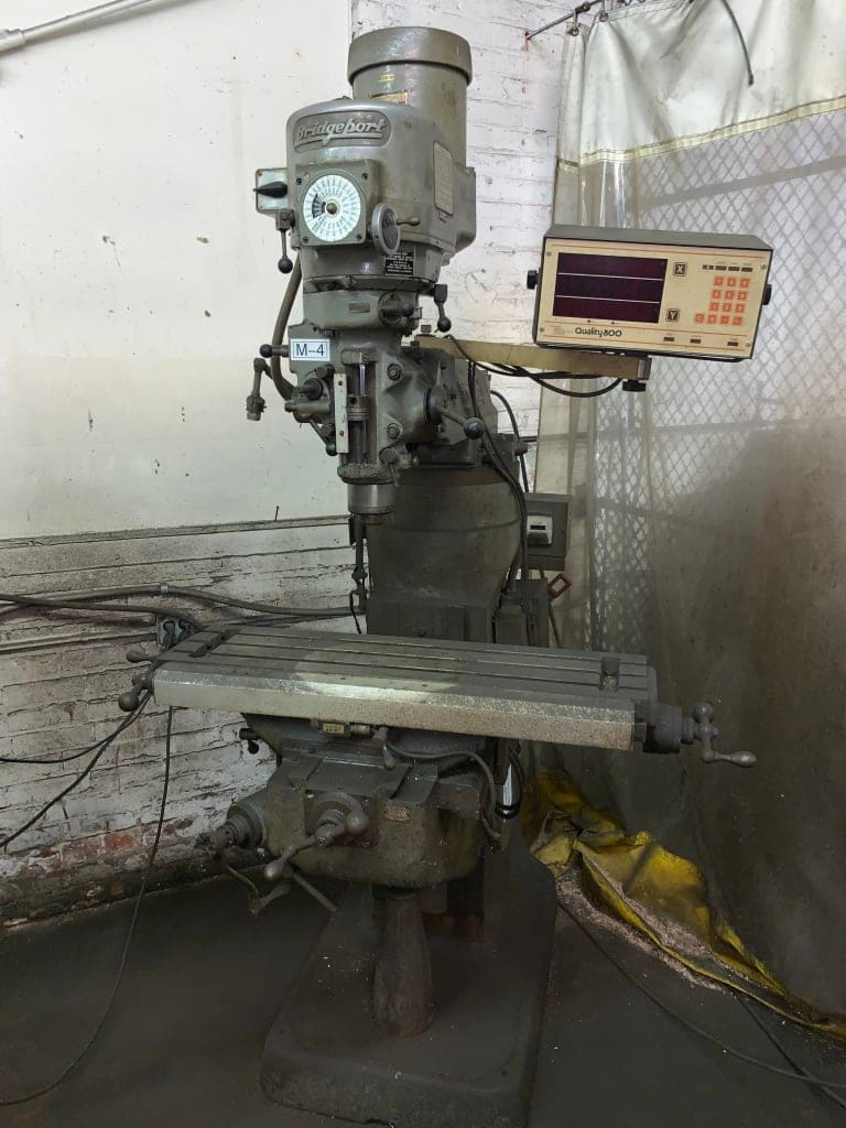 1 - PREOWNED BRIDGEPORT VERTICAL MILL, MODEL #: SERIES I, <br>S/N #: 121151