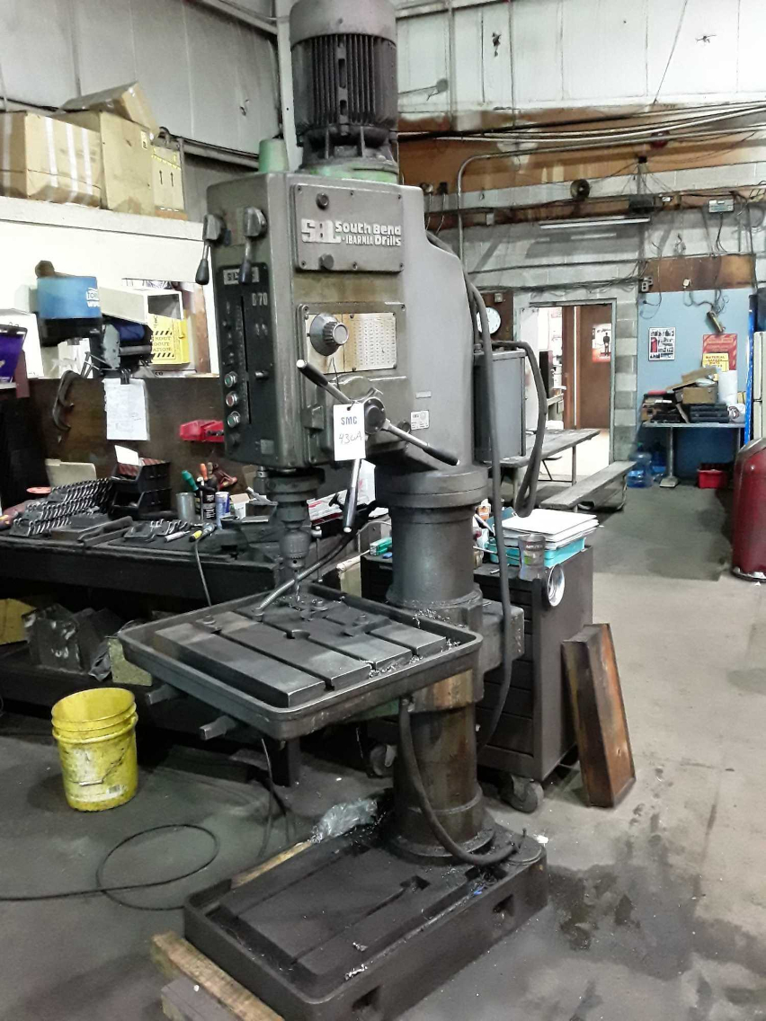 1 - PREOWNED SOUTH BEND DRILL PRESS, MODEL #: B-70,<br>S/N: 900-D