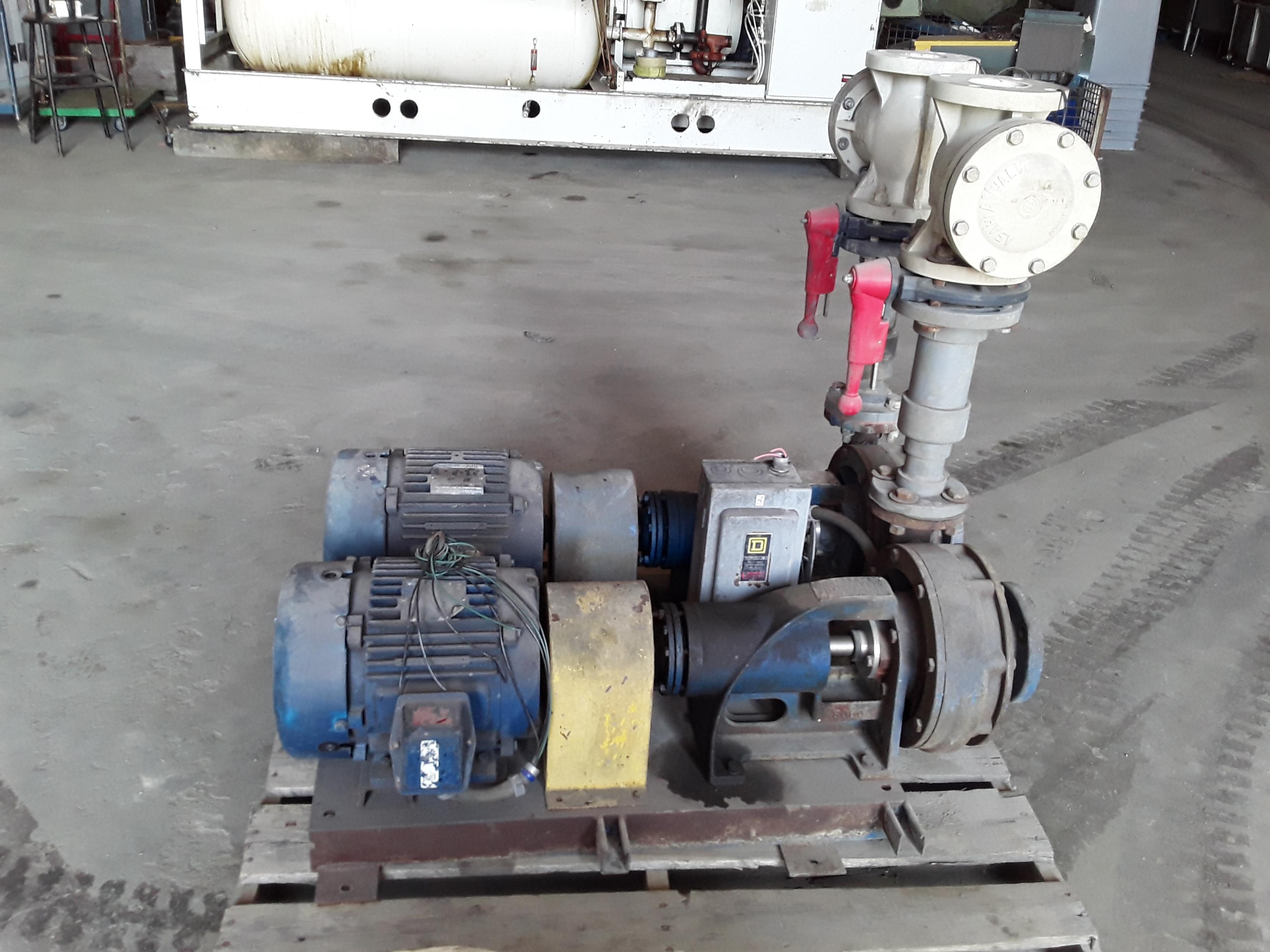 (1) PREOWNED HAYNES WATER PUMP, MODEL 6051, S/N 10505-02