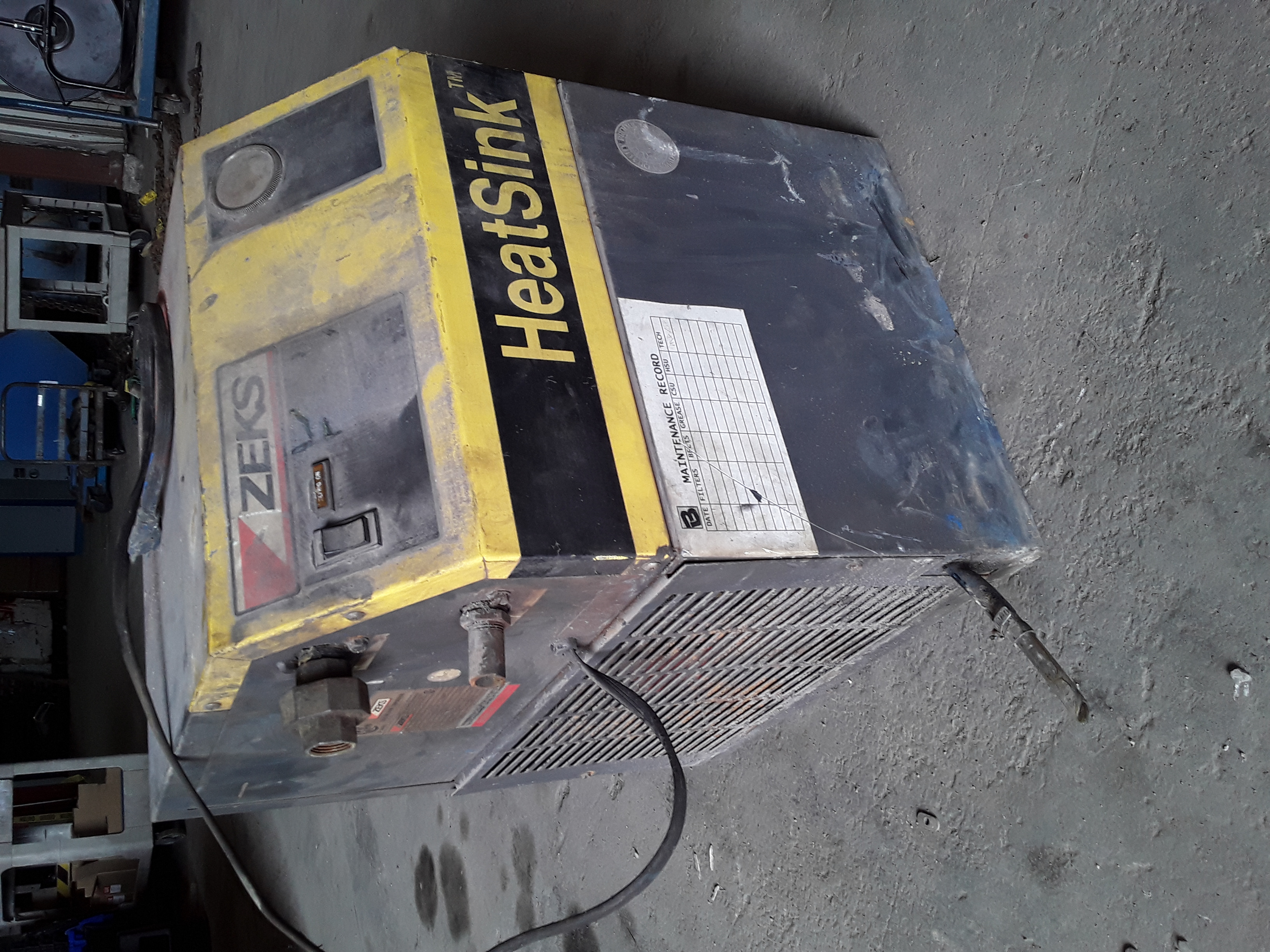 (1) PREOWNED ZEKS AIR DRYER, MODEL 35HSDA100, S/N 84070-3