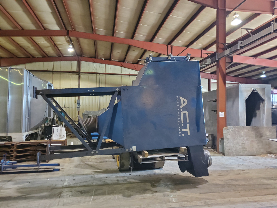 (1) PREOWNED ACT DUST COLLECTOR, MODEL ACT-3-12, S/N 15035