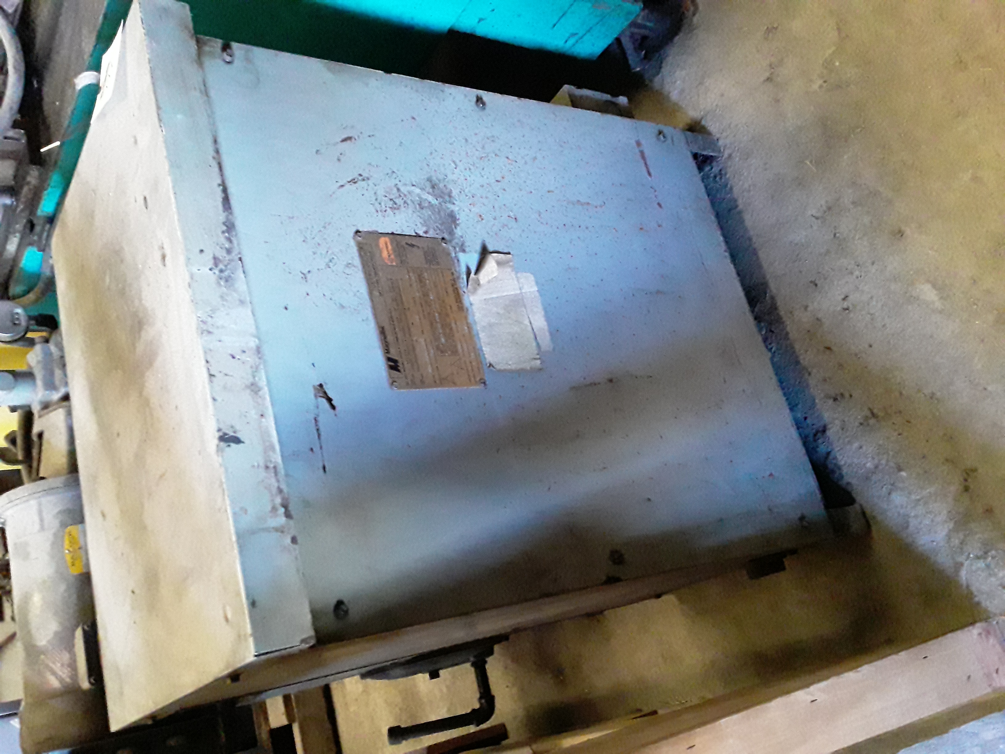 (1) PREOWNED JEFFERSON ELECTRIC 3 PHASE TRANSFORMER, 45 KVA