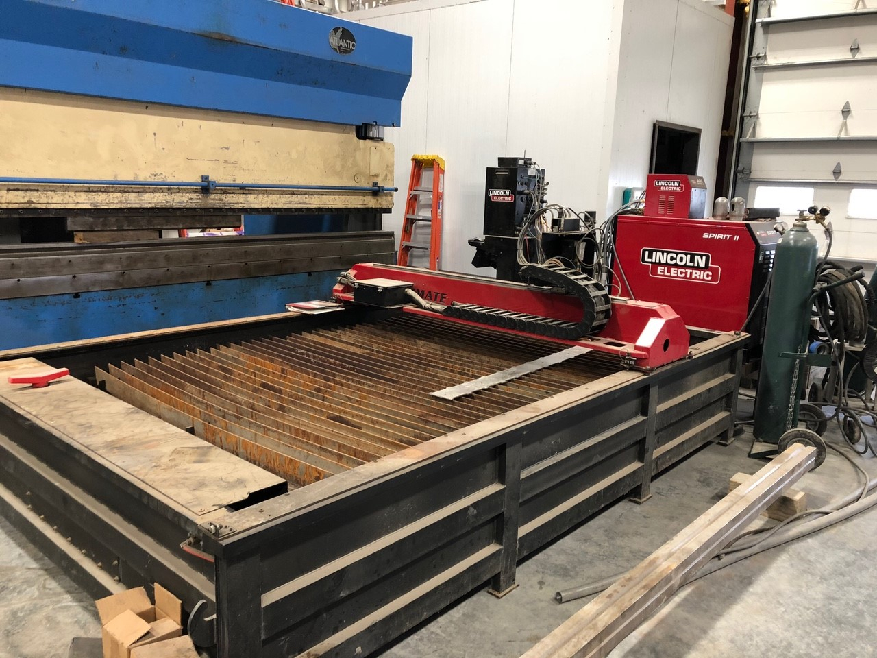 1- PREOWNED TORCHMATE PLASMA CUTTING TABLE,<br>MODEL #: BURNY PHANTOM II