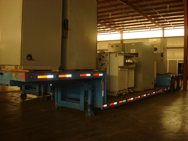 TRANSPORT SYSTEMS 20 TON STRETCH TRAILER, STOCK# 12666T