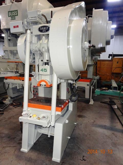 DANLY 45 Ton OBI Press, Stock #13014J