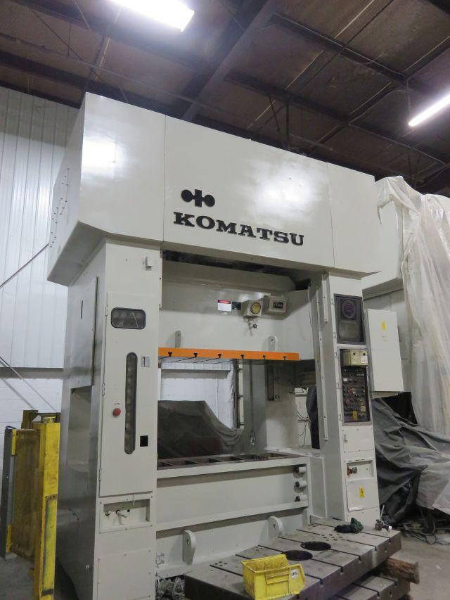 KOMATSU 220 TON ECCENTRIC GEAR 2 PT SS PRESS, S/N 10017, STOCK# 13404J
