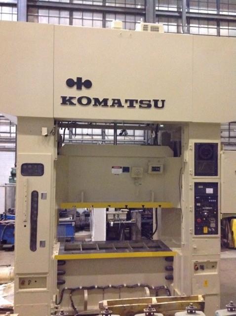 KOMATSU 220 TON ECCENTRIC GEAR 2 PT SS PRESS, STOCK# 13406J