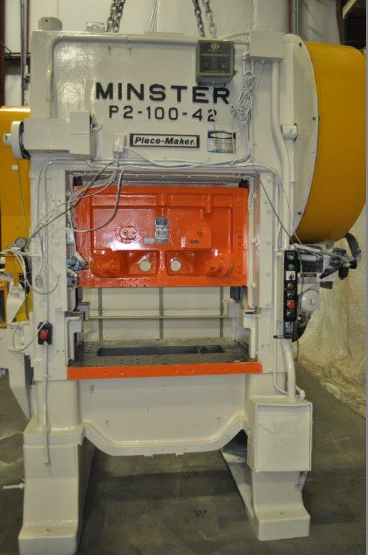 MINSTER 100 TON SSDC PRESS, STOCK# 13611J