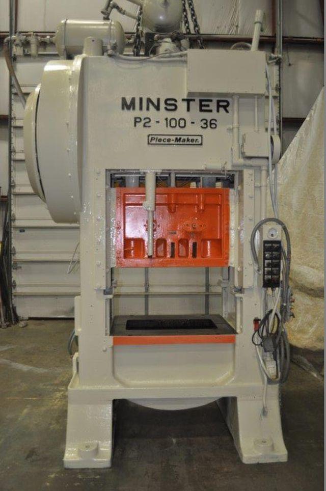 MINSTER 100 TON SSDC PRESS, STOCK# 13622J