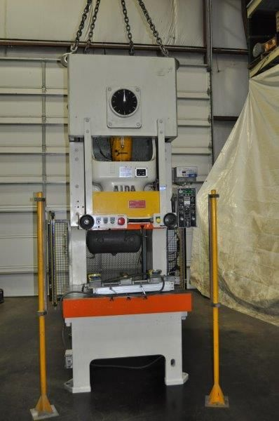 AIDA 165 TON SINGLE POINT GAP FRAME PRESS, STOCK# 13899J
