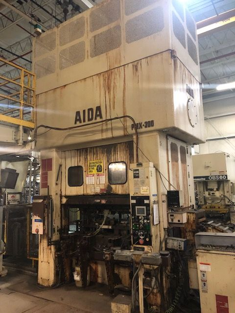 AIDA 330 TON SSDC PRESS, STOCK# 14003J