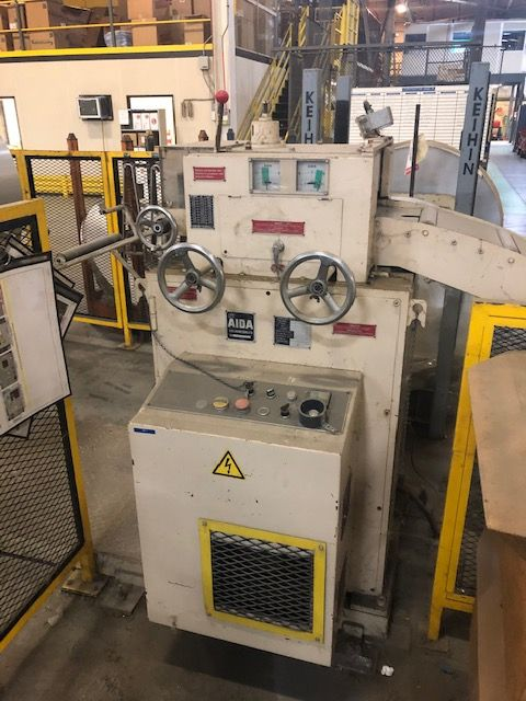 "AIDA 12"" X .63 SERVO FEEDER, STOCK# 14008J"