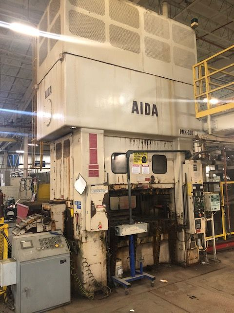 AIDA 330 TON SSDC PRESS, STOCK# 14010J