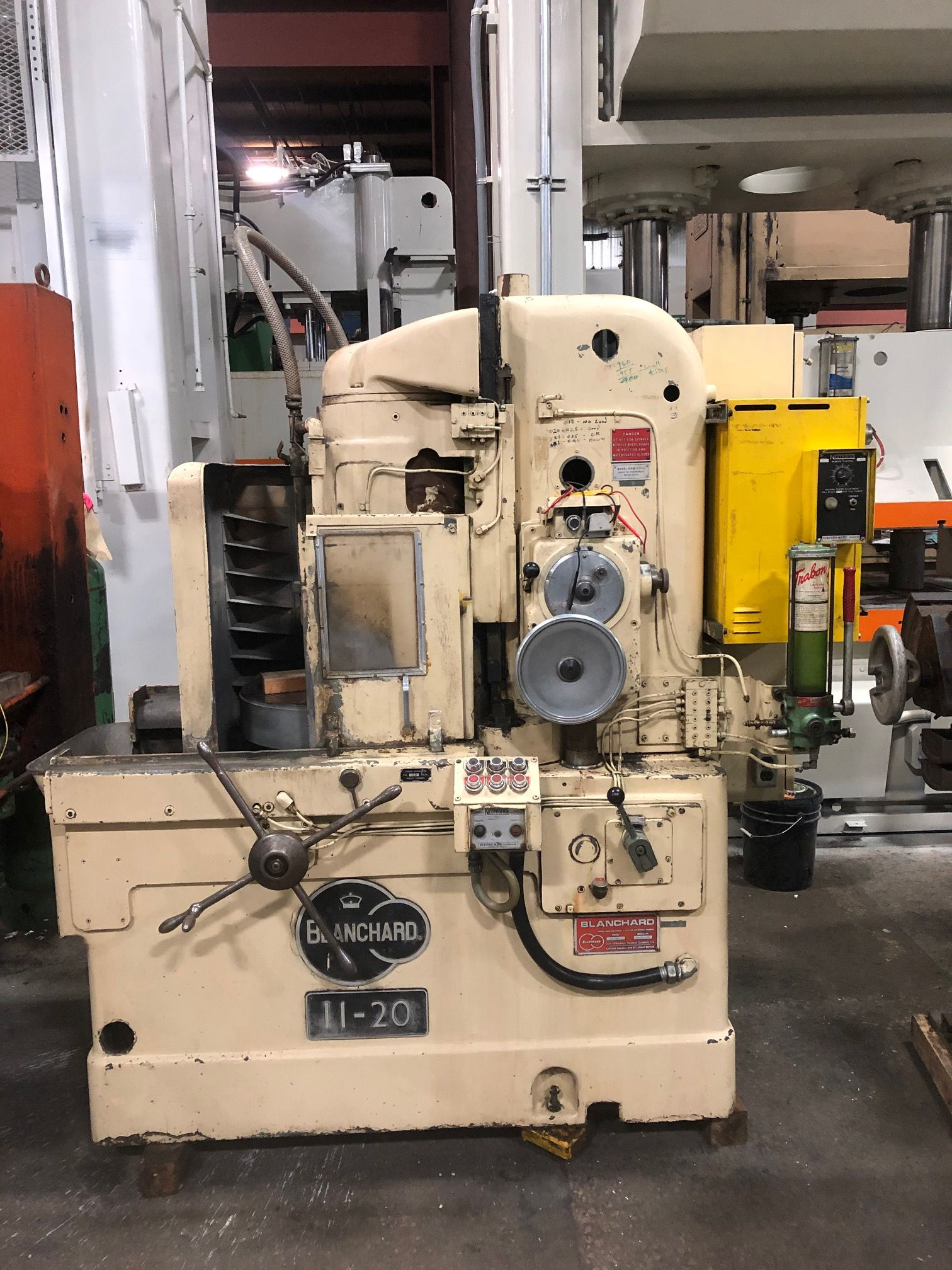 """BLANCHARD 20"""" ROTARY SURFACE GRINDER, STOCK# 14016T"""