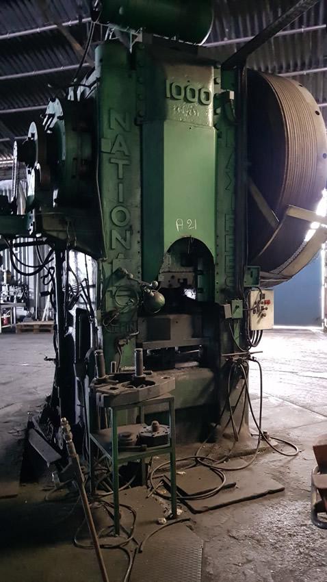 1000 Ton National Hot Forging Maxi Press