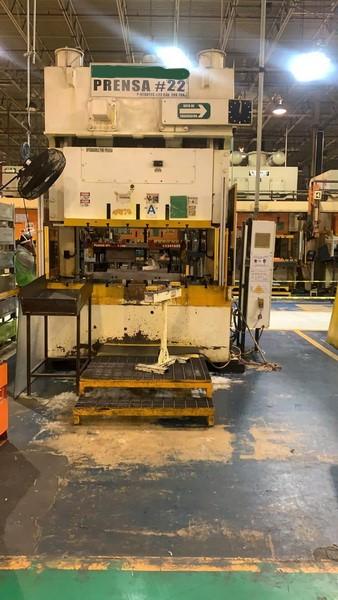 200 Ton STAMTEC GAP Press