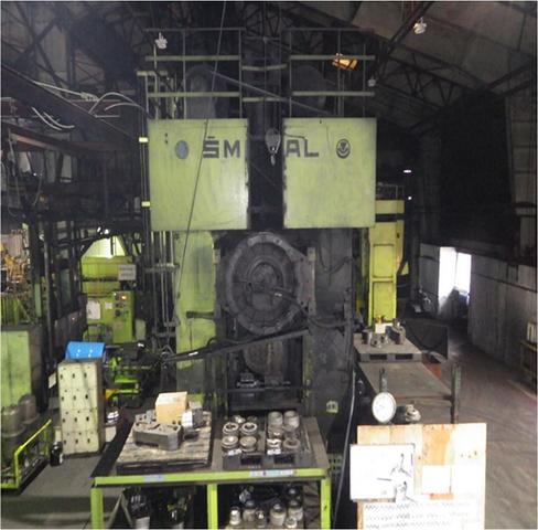 2500 Ton Smeral Hot Forging Press