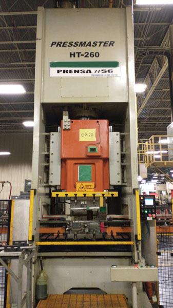 250 Ton Pressmaster GAP Press