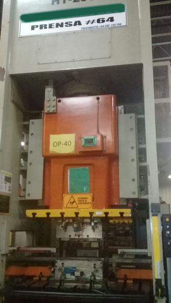 250 Ton Pressmaster GAP Press (2 Available)