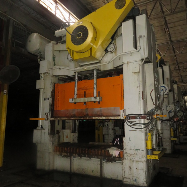 500 Ton Danly Press (4 Available)