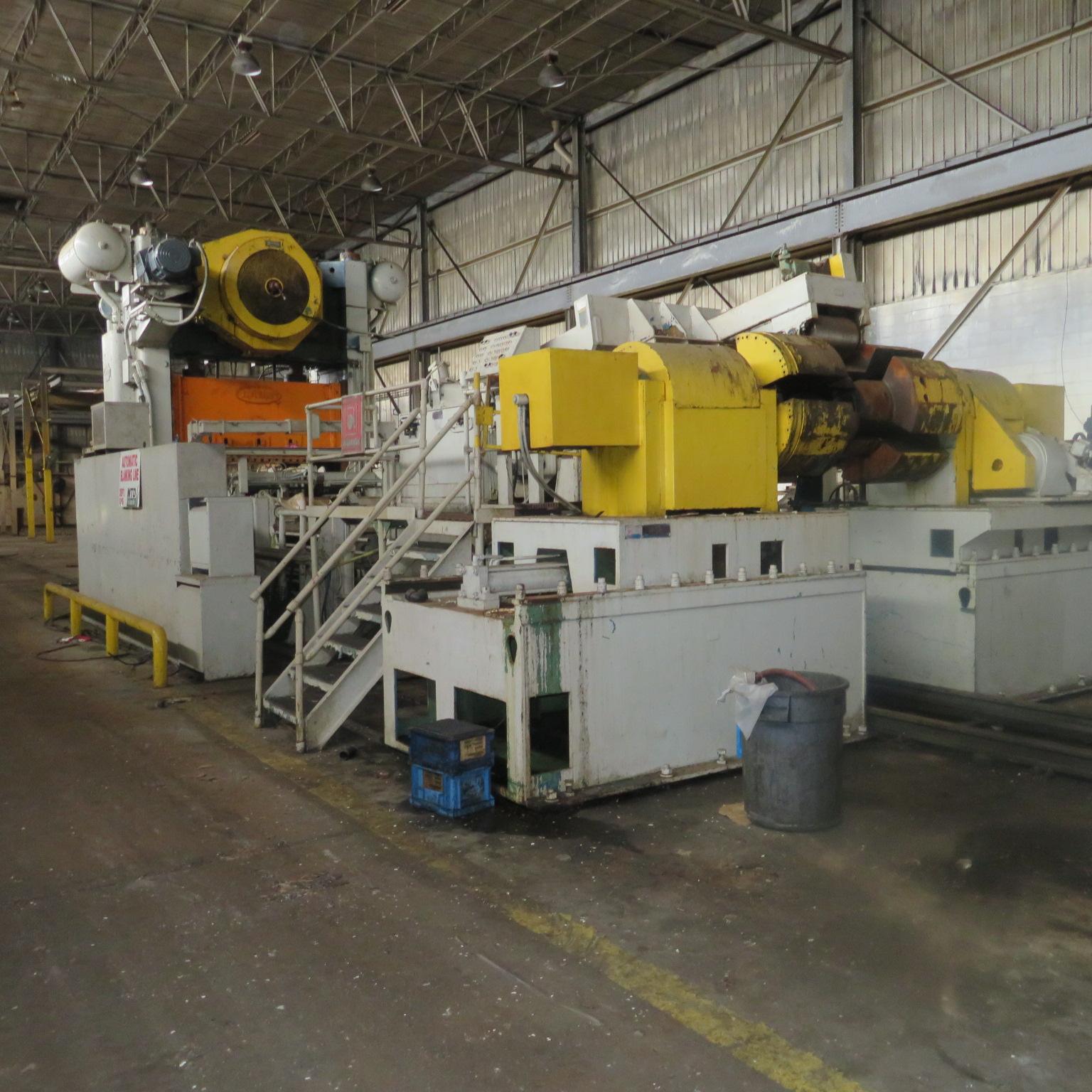 76'' Automatic Feed Company Feedline - 60,000# Capacity