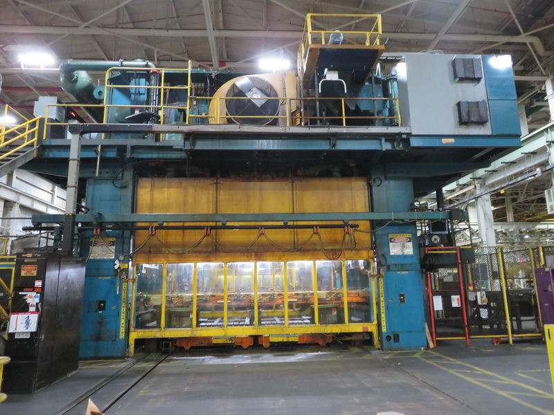 2000 Ton Verson Transfer Press with ETF (2 Available)