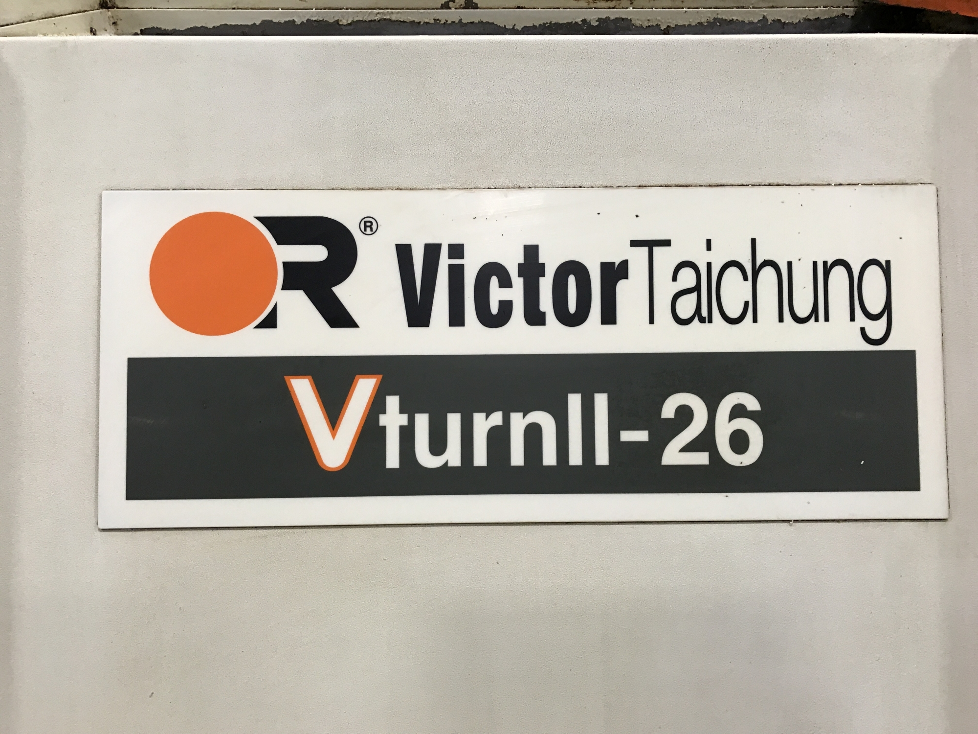 2007 Victor VturnII-26 - CNC Horizontal Lathe