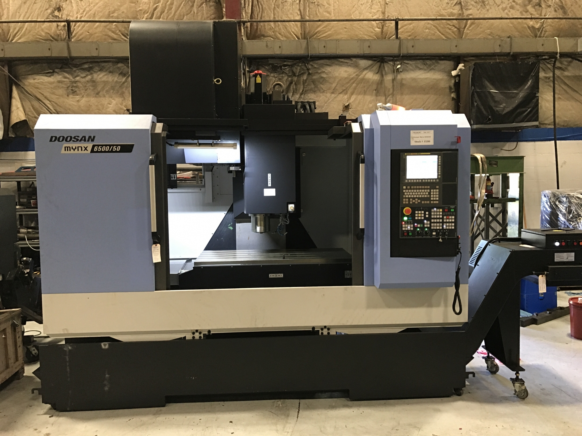2017 Doosan Mynx 6500/50 - Vertical Machining Center