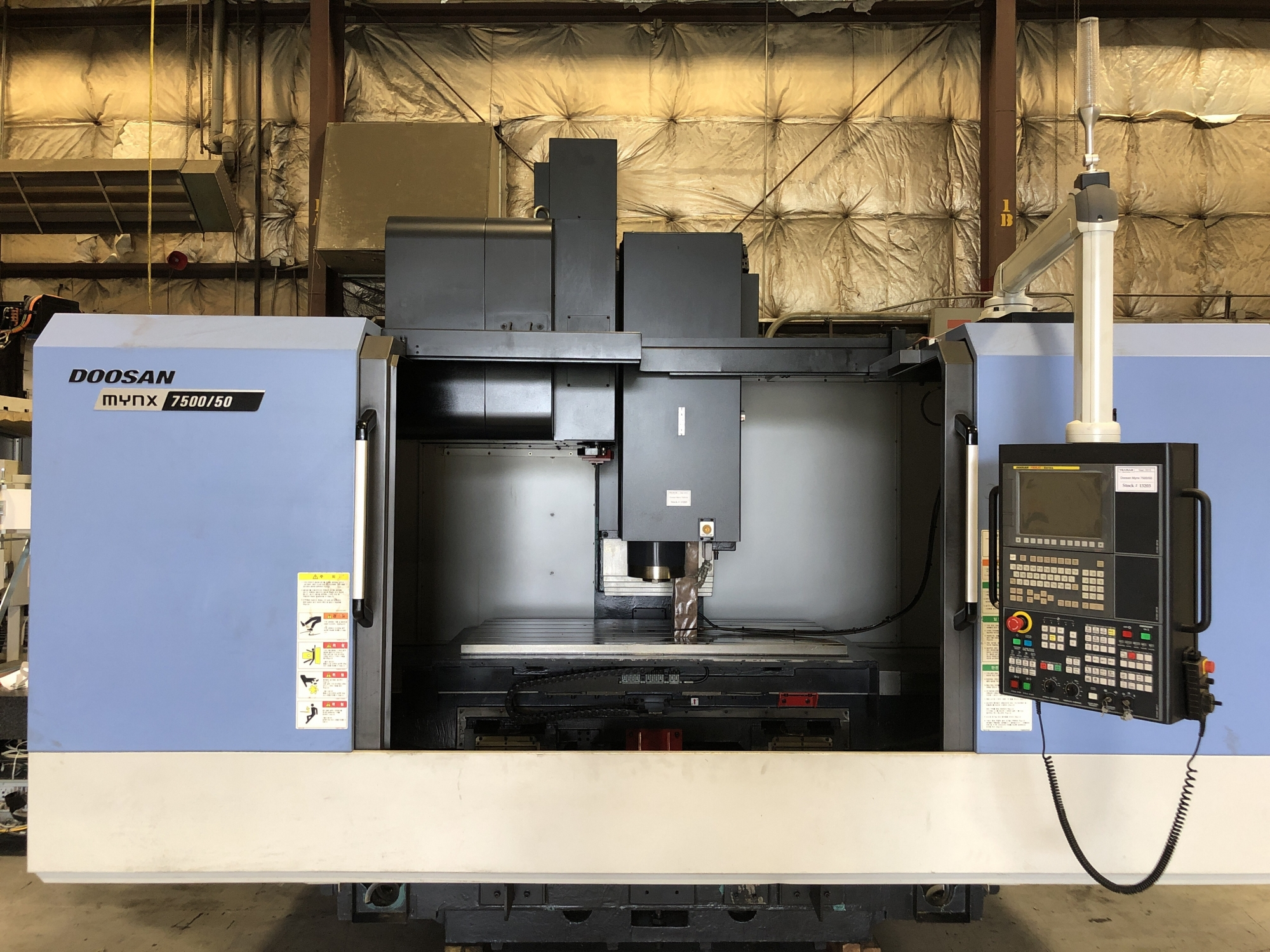 2015 Doosan Mynx 7500/50 - Vertical Machining Center