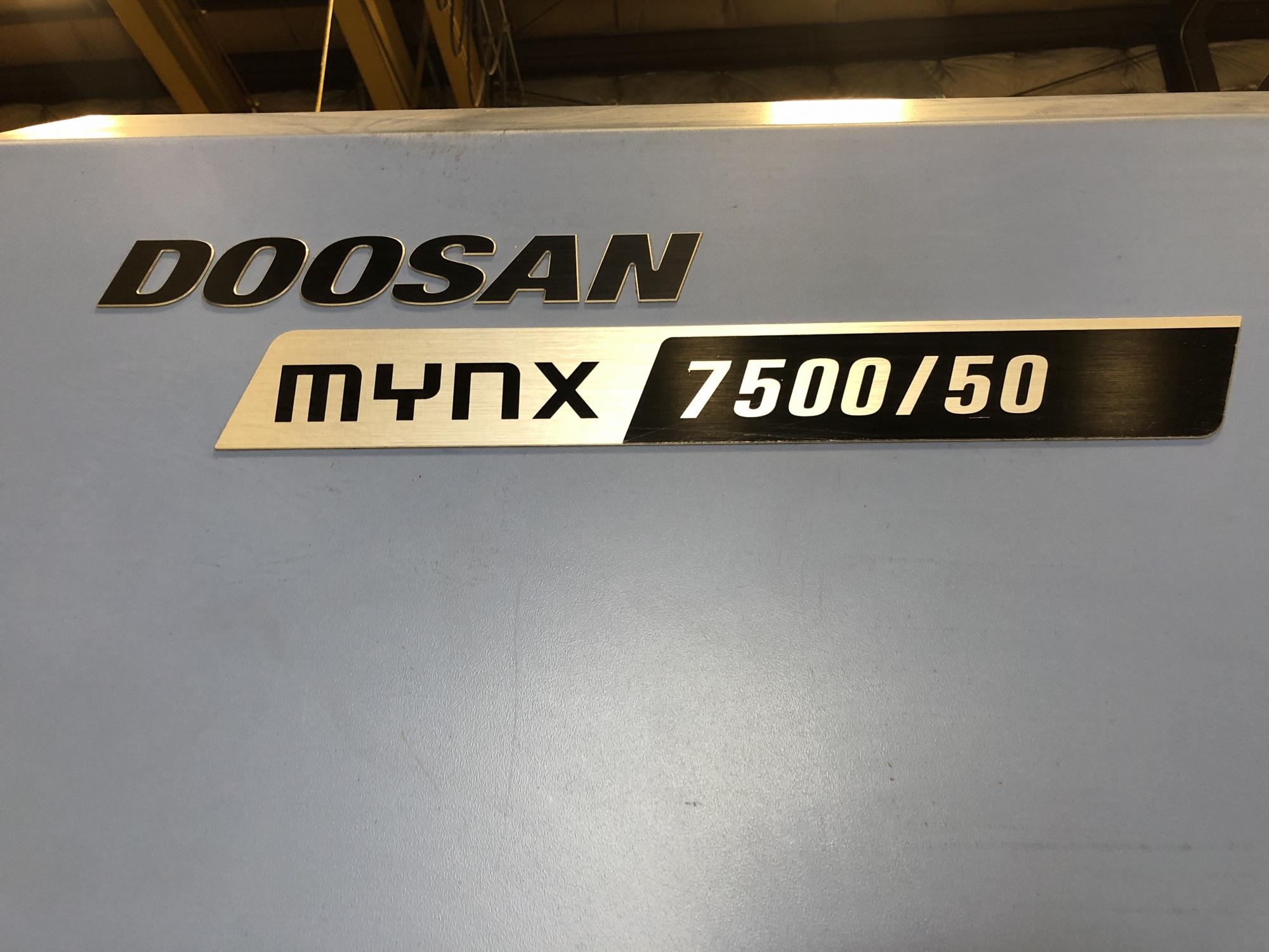 2015 Doosan Mynx 7500/50