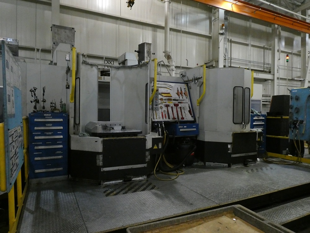 2009 Mazak (3) Integrex e-1060V/8 II with Mazak Palletech