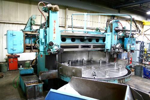 1953 NILES F120T Vertical Boring Mill