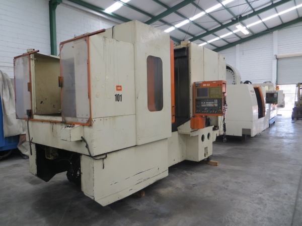 2000 MITSUBISHI MH-4B - Horizontal Machining Center