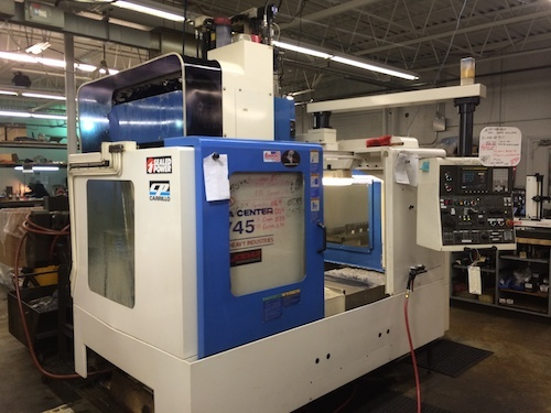2004 KIA KV-45 - Vertical Machining Center