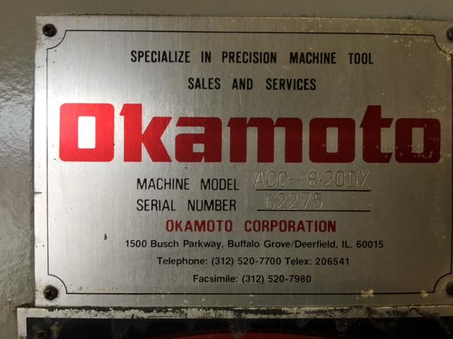 1996 OKAMOTO ACC-820DX
