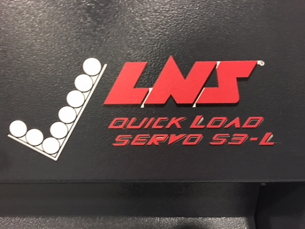 2013 LNS Quick Load S3-L 6' Bar Feeder