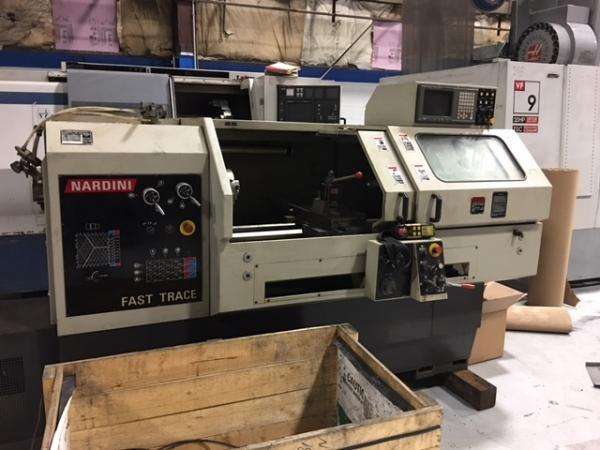 1995 NARDINI Fast Trace CNC Teach Lathe