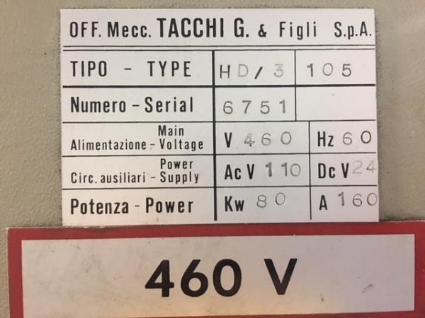 1993 TACCHI HD/3 105LS
