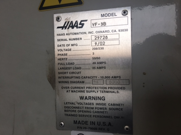 2002 HAAS VF-3B