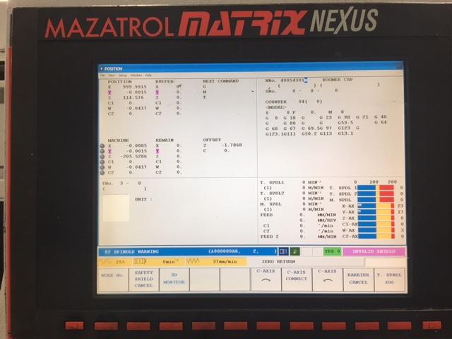 2007 MAZAK QTN 250MSY II - Horizontal CNC Lathe