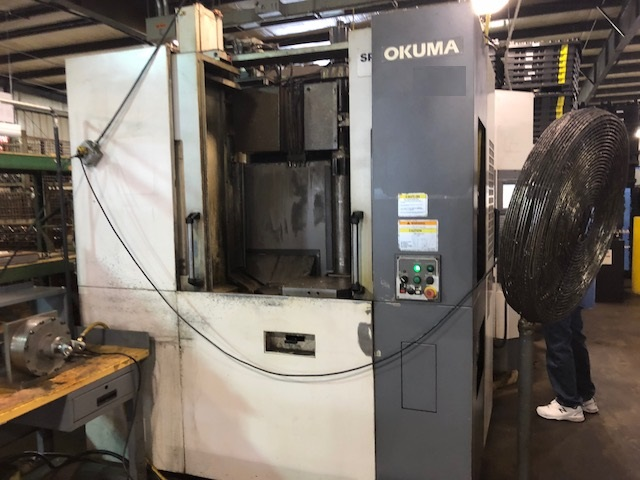 2005 OKUMA MA-400HA - CNC Horizontal Machining Center