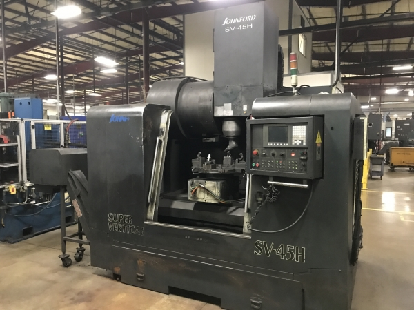 2005 JOHNFORD SV-45H - Vertical Machining Center